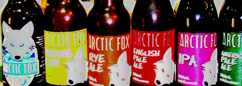 Arctic Fox Craft Beers Now @ Vine