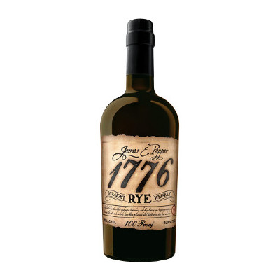 James E Pepper 1776 Rye Whiskey