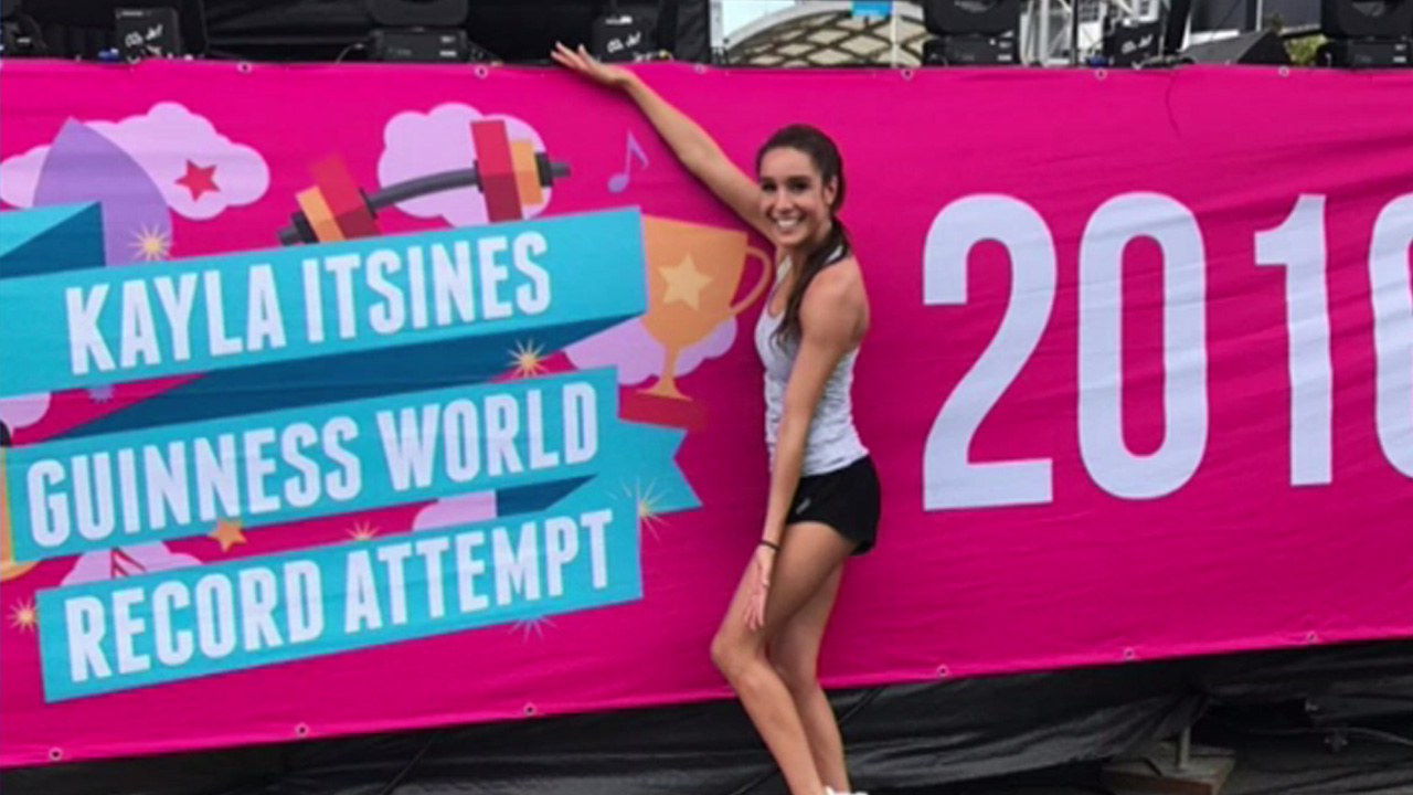 The world's reining fitness queen: Kayla Itsines