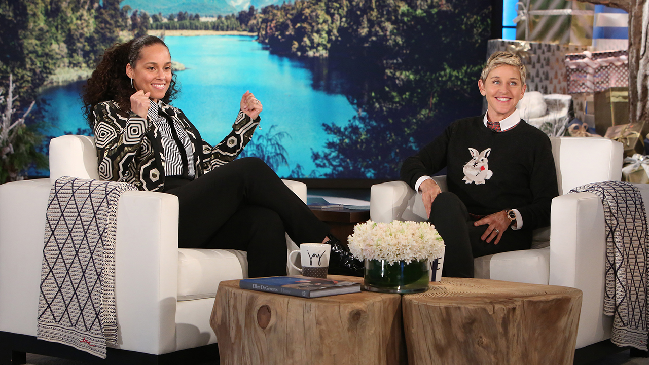 Alicia Keys on 'The Voice' and her new album