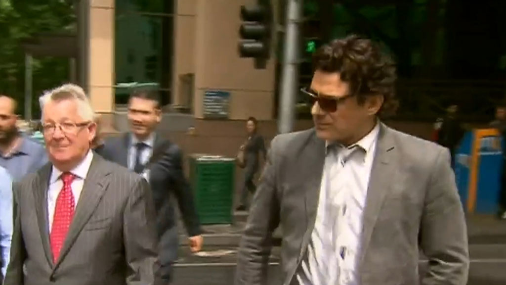 Underbelly star Vince Colosimo charged with alleged drugs possession