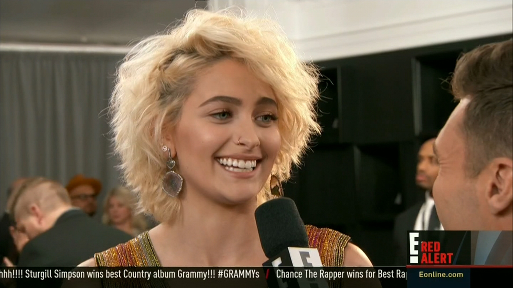Paris Jackson almost peed when she saw Beyonce