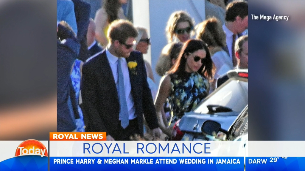 Prince Harry and Meghan Markle go public with romance