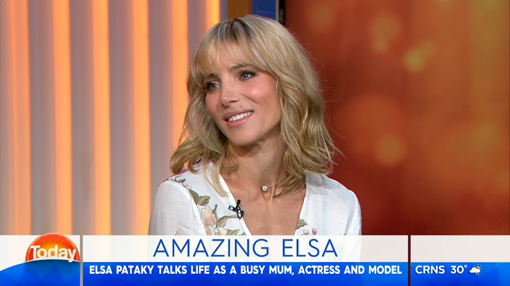Elsa Pataky discusses motherhood, new L'Oreal partnership