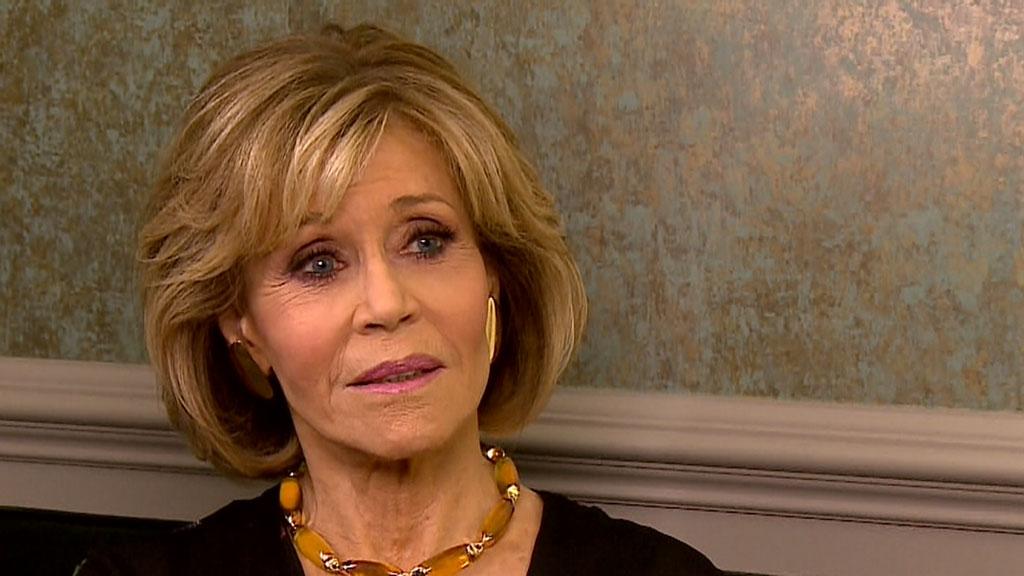Richard Wilkins sits down with Jane Fonda