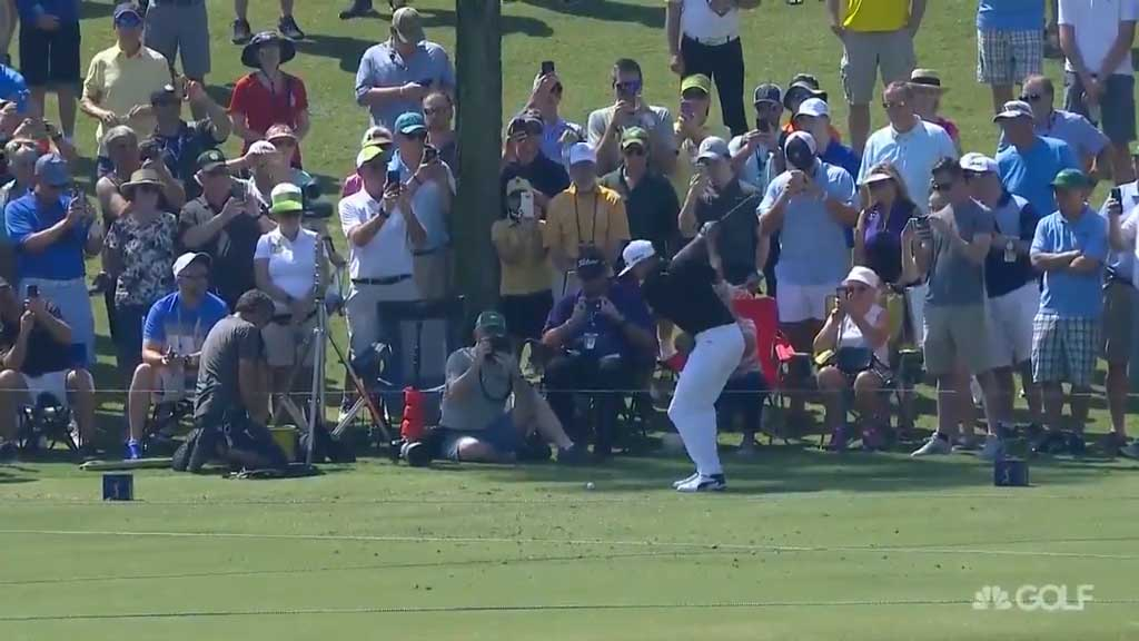 Rickie Fowler makes a hole-in-one
