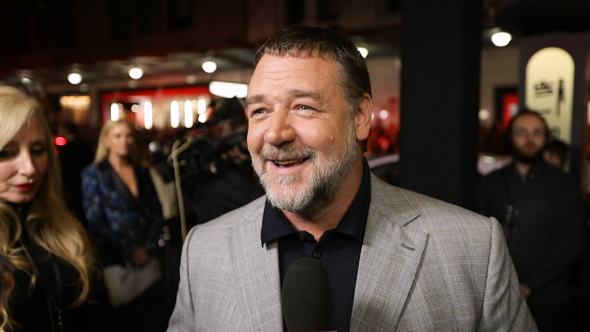 Russell Crowe talks to TheFIX at The Mummy's Sydney premiere