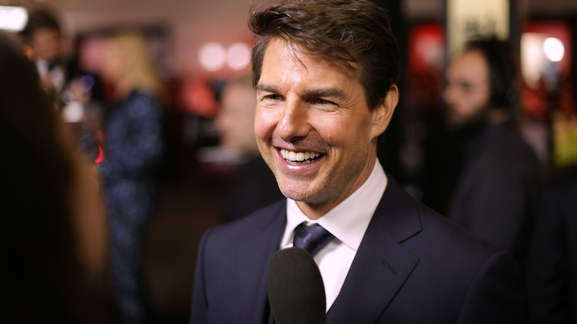 Tom Cruise talks to TheFIX at The Mummy's Sydney premiere