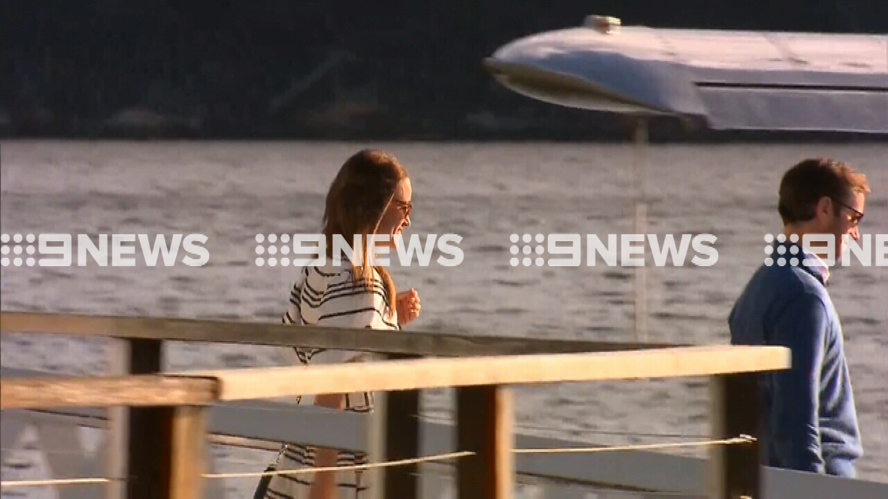 9RAW: Pippa Middleton enjoys lunch by the water in Sydney
