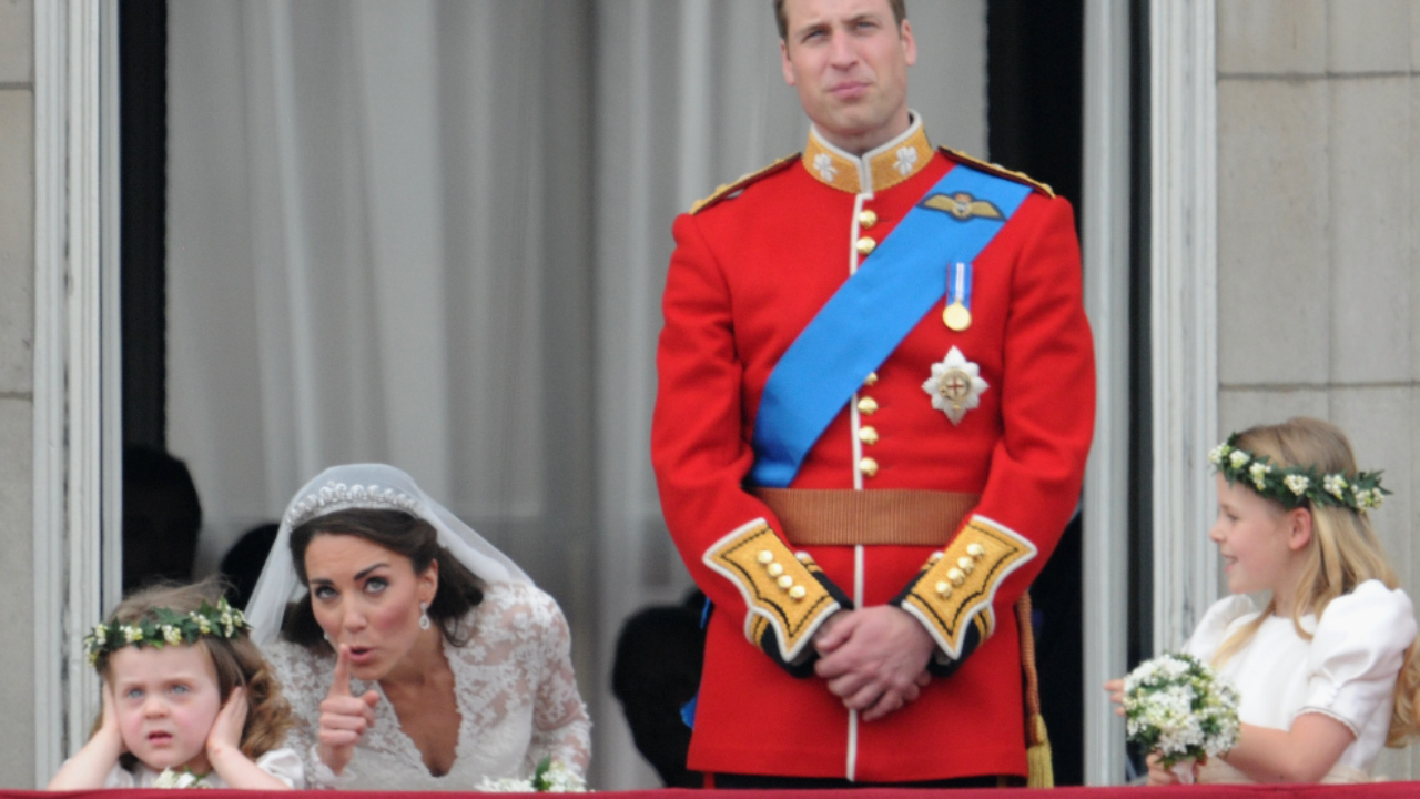 The Grumpy girl from Kate Middleton and Prince William's wedding is all grown up