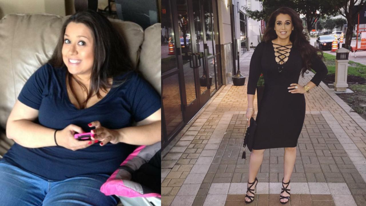 Mum's 46 kilo weight-loss journey