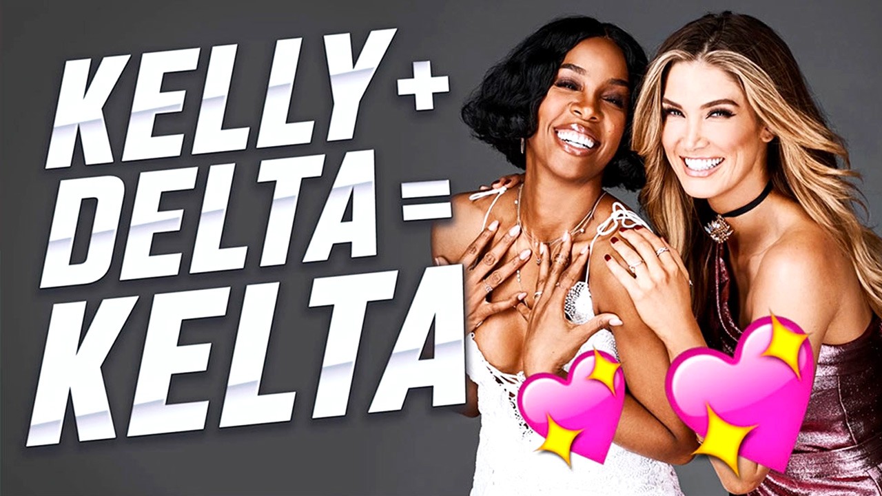 Kelly & Delta open up about their friendship.