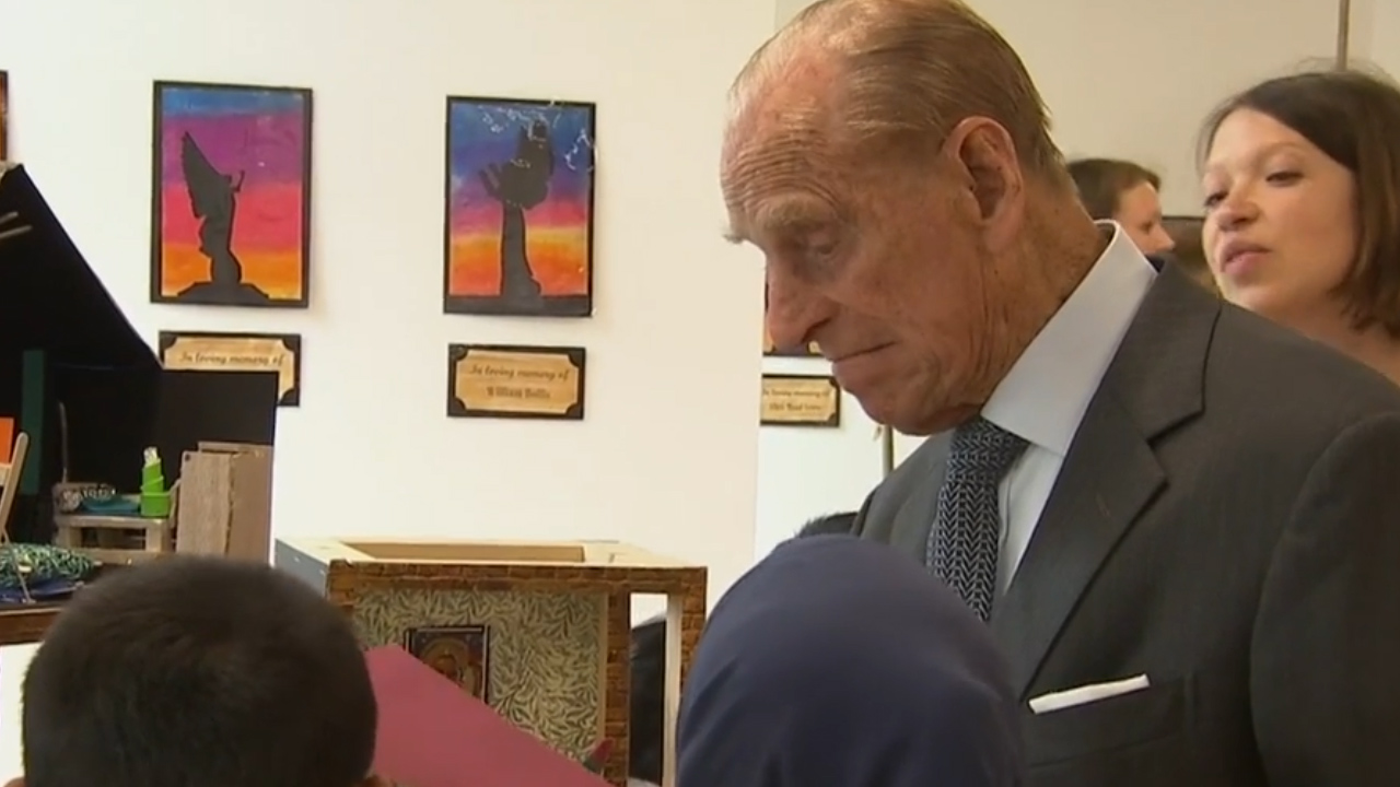 Prince Philip is not impressed (again)