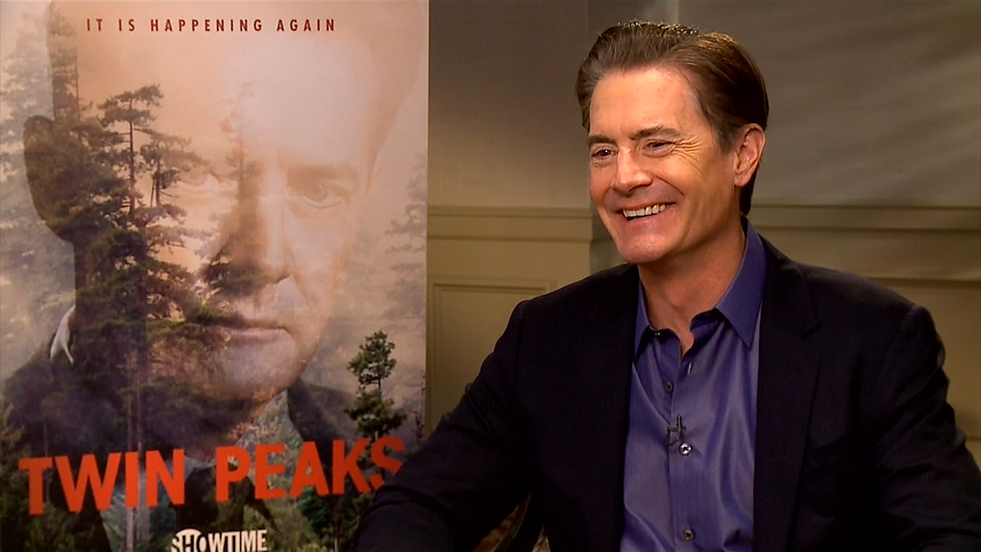 Kyle MacLachlan plays would you rather