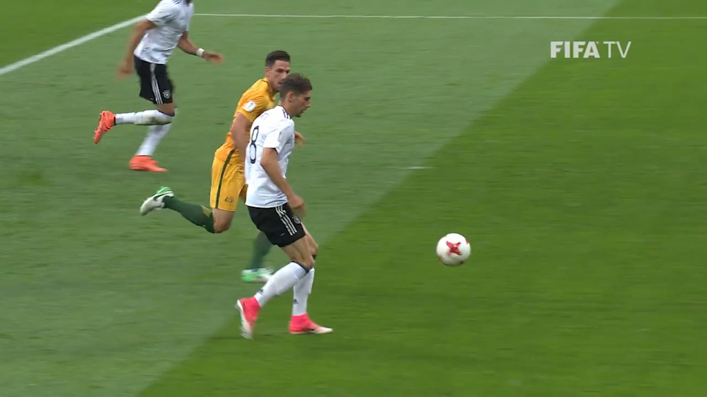 Socceroos go down to Germany