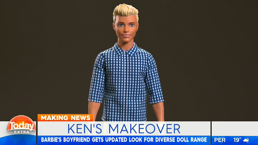 Ken gets a makeover