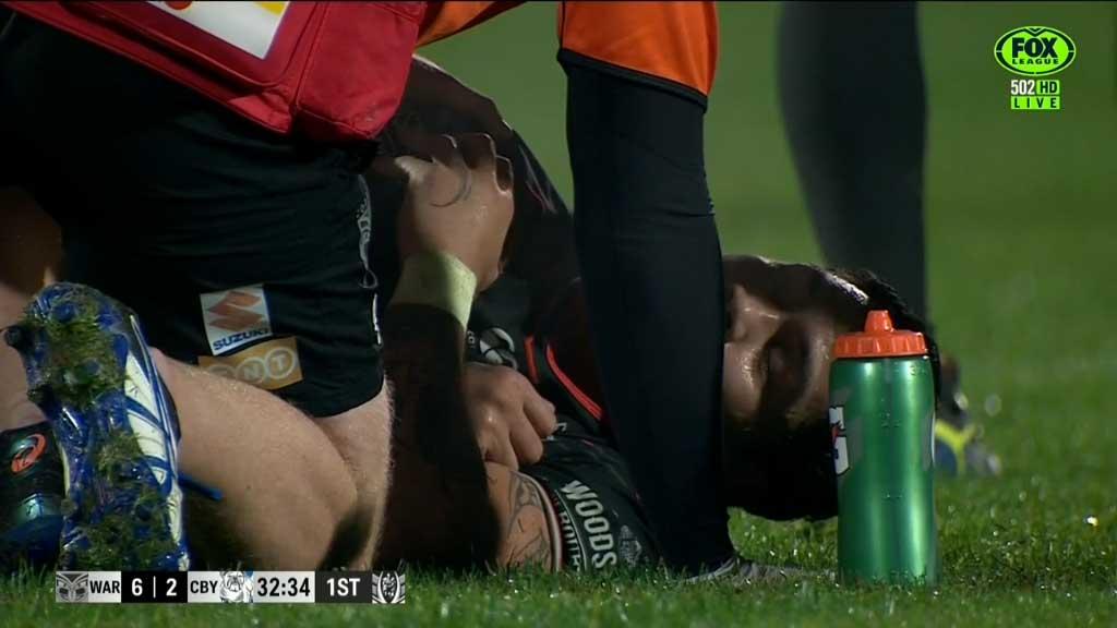 Luke injures shoulder in win over Bullodgs