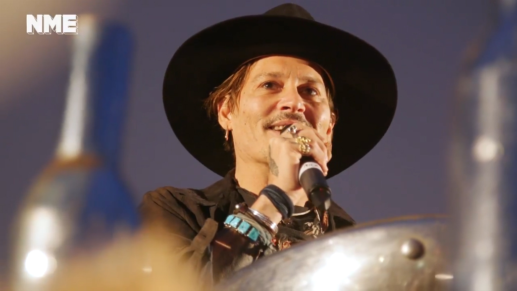 Johnny Depp jokes about assassinating Donald Trump, says that 'maybe it is time': Watch