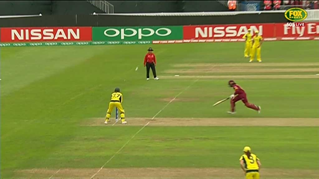 Aussies robbed of a run out at Cricket World Cup