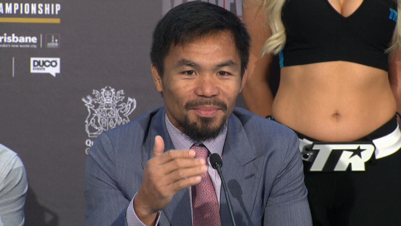 Pacquiao up for the challenge