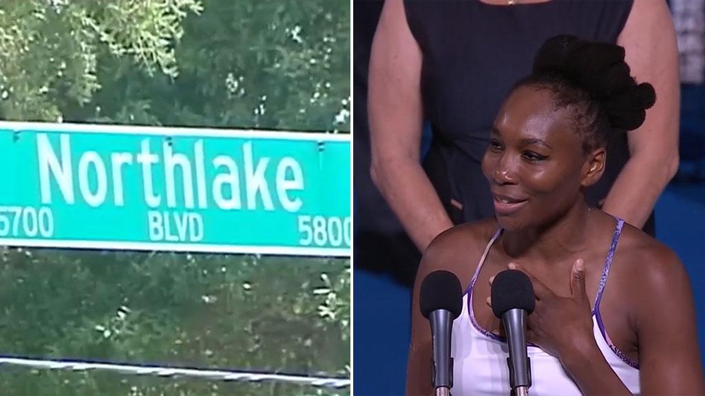 9RAW: Man dies after car crash with Venus Williams