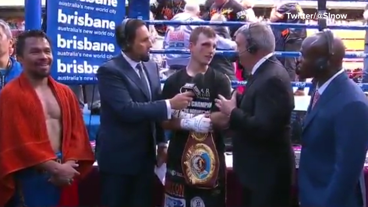 US boxing expert confronts Horn over win