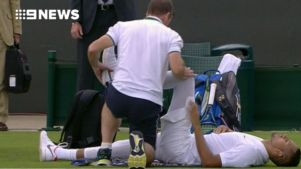 Nick Kyrgios hip injury forces Wimbledon withdrawal