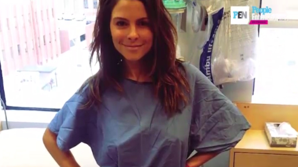 Maria Menounos speaks out after brain tumour diagnosis
