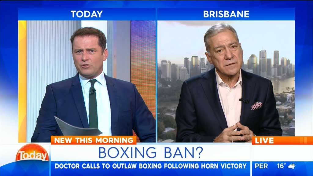 Calls for boxing to be banned
