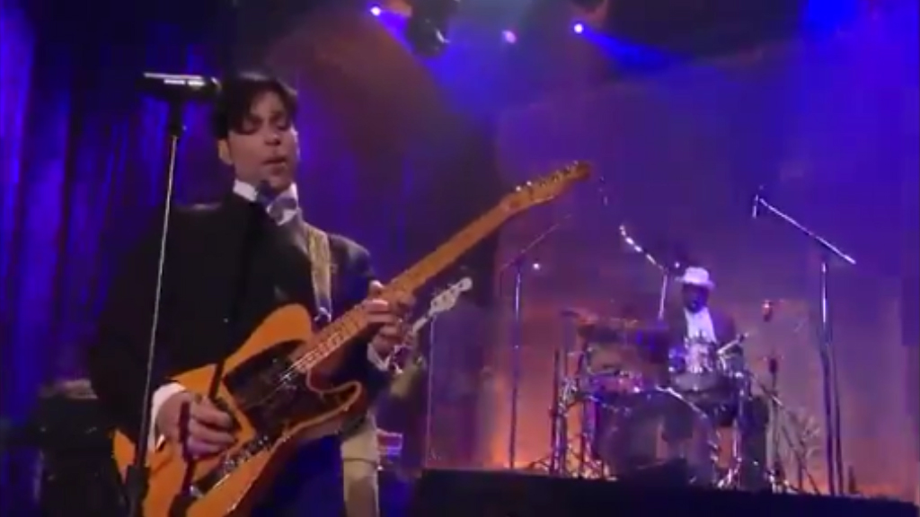 John Blackwell Jr. plays drums for Prince