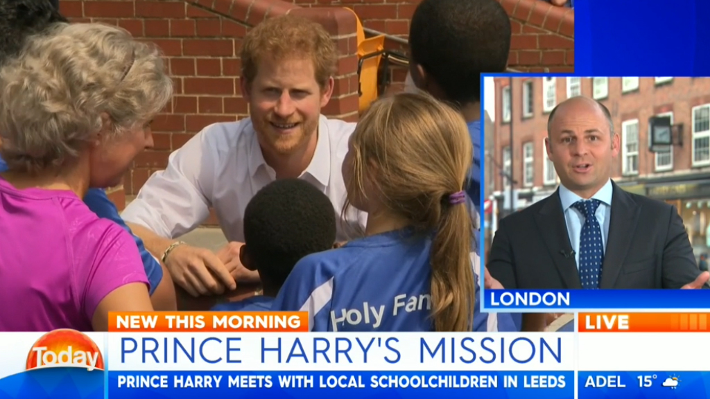 Prince Harry gets sporty!