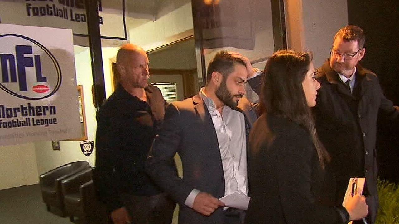 Fahour charged by police