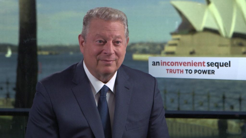 Al Gore says South Australia is leading the world in modern energy