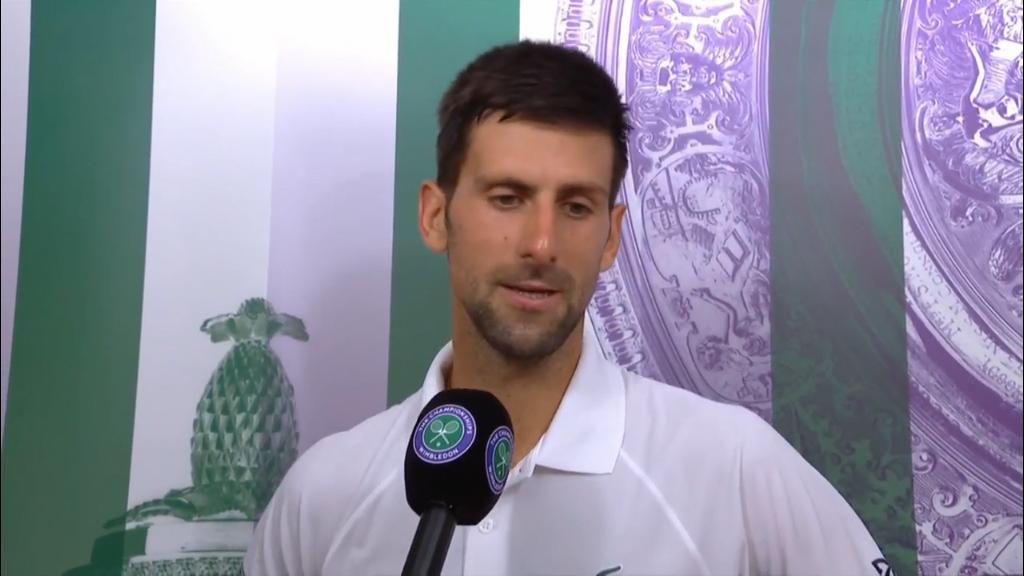 Djokovic slams state of courts