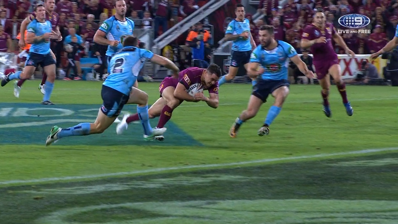 Cronk ruled to have knocked on