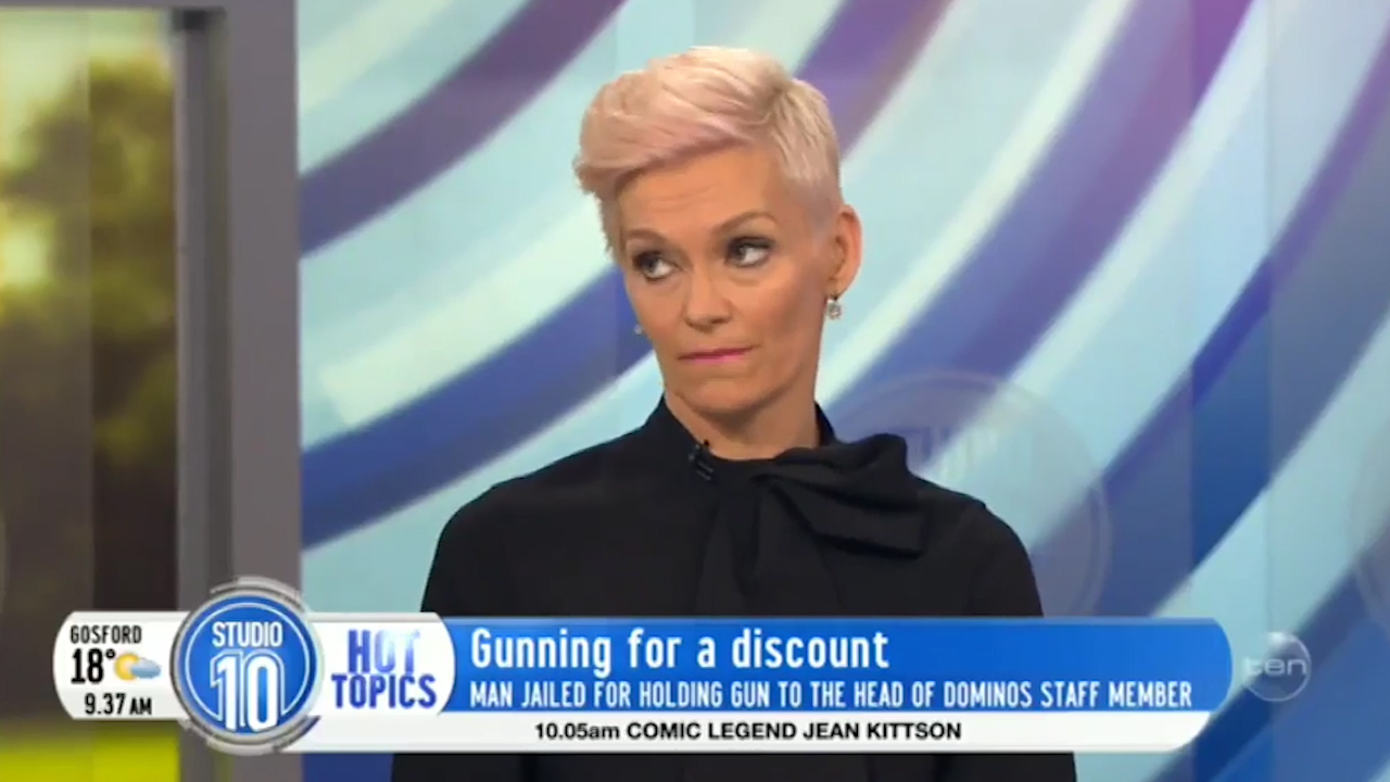 Jessica Rowe discussing being held at gunpoint