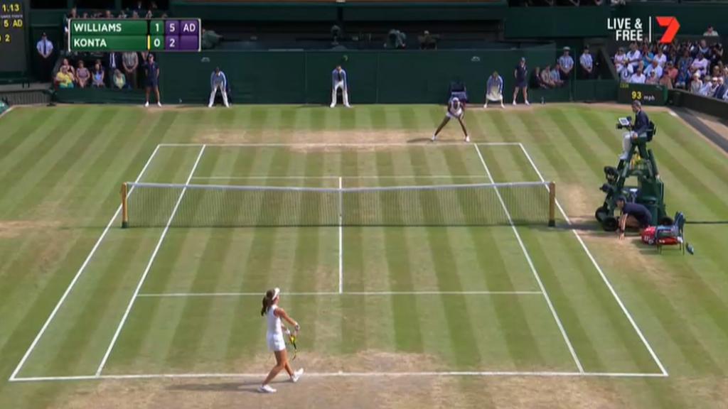 Williams makes Wimbledon final