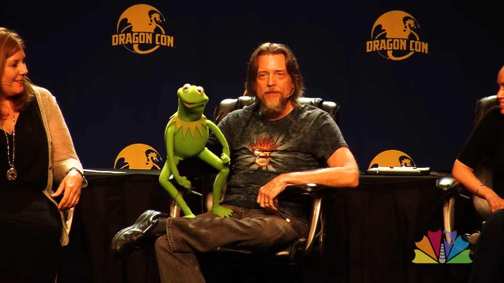 Kermit the Frog attends Dragon Con 2015