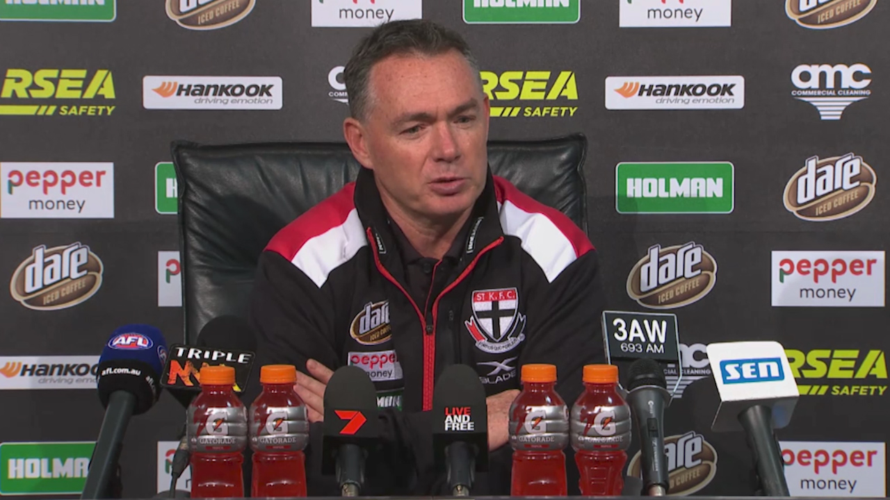 St Kilda 'embarrassed' by AFL thrashing at the hands of Essendon