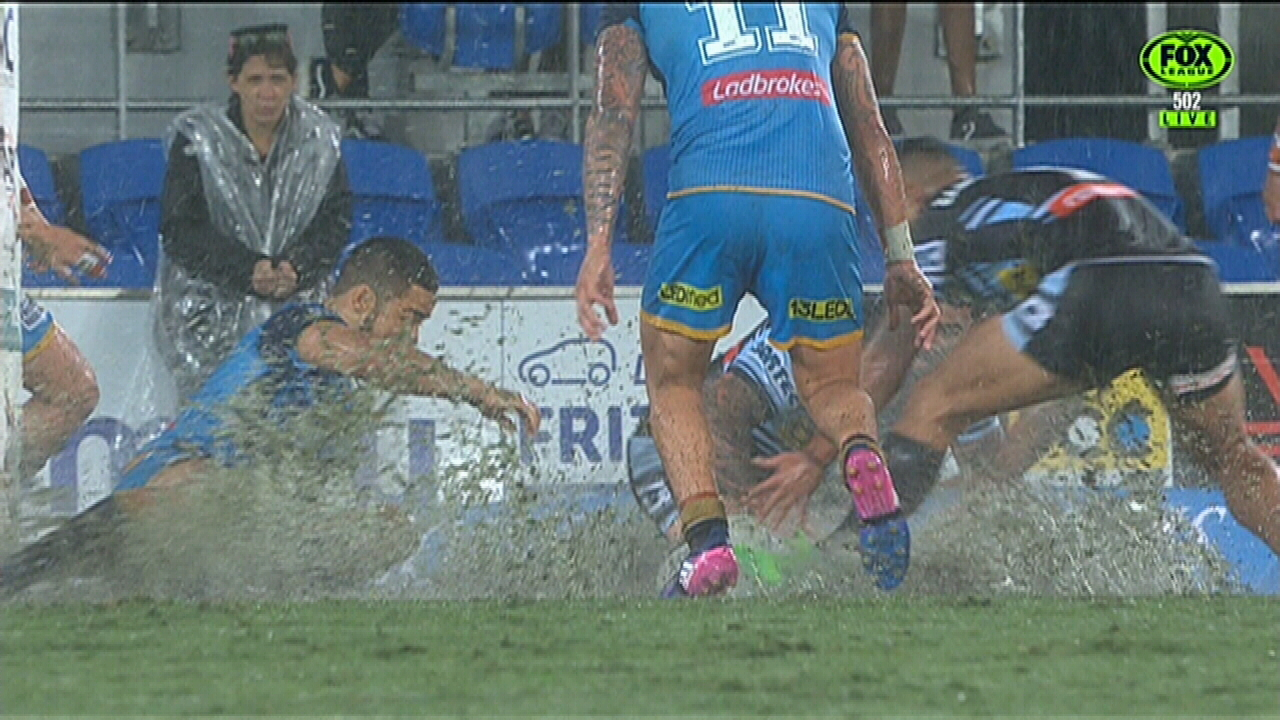 Rain causes havoc on the Gold Coast