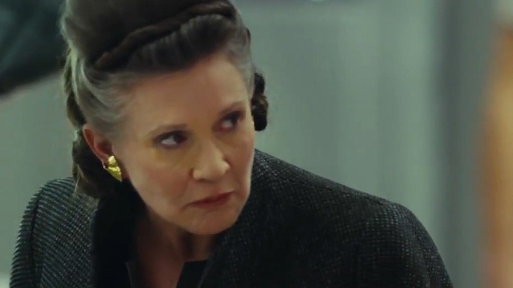 9RAW: Carrie Fisher features in new 'Star Wars' promo