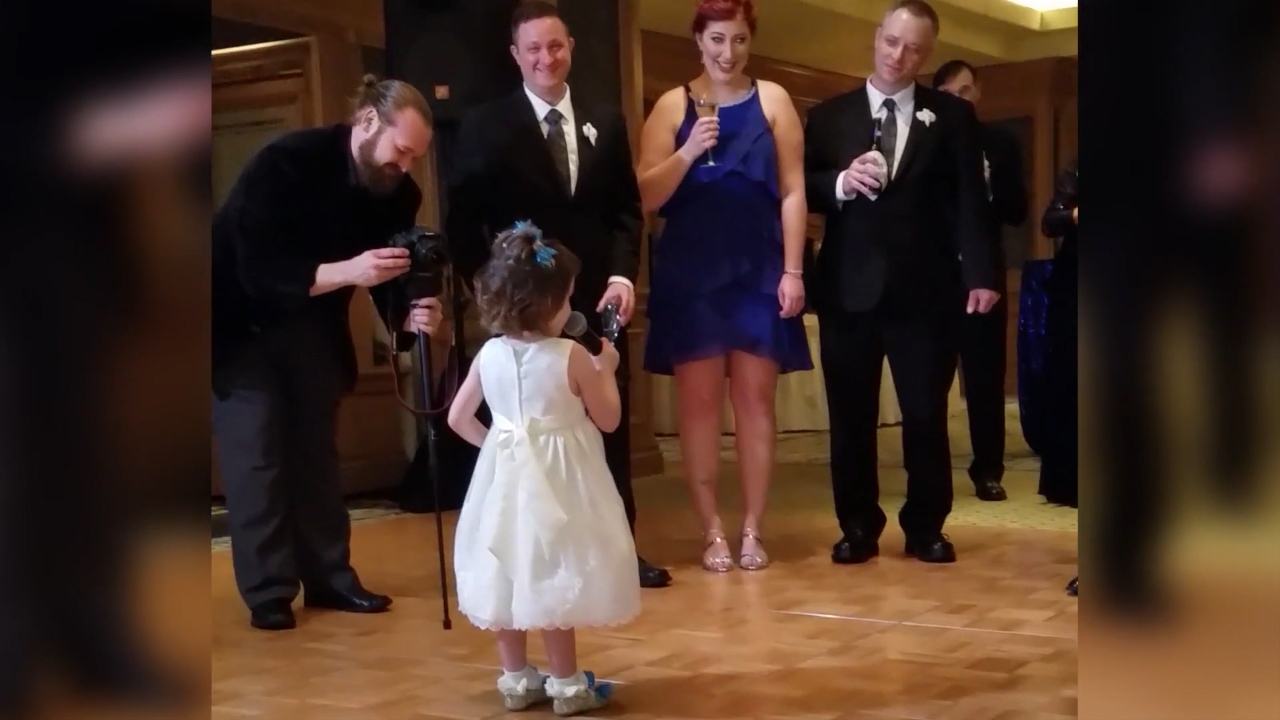 This wedding speech is better than yours