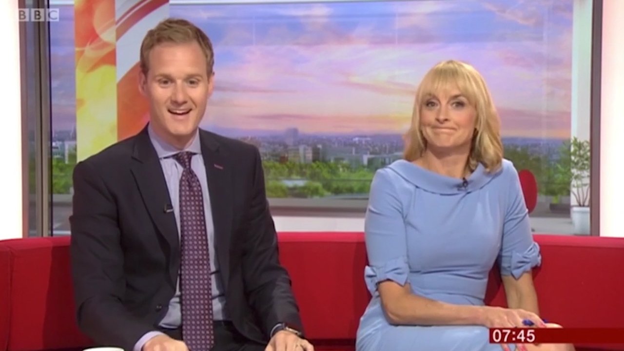BBC Breakfast presenter Dan Walker makes awkward quip