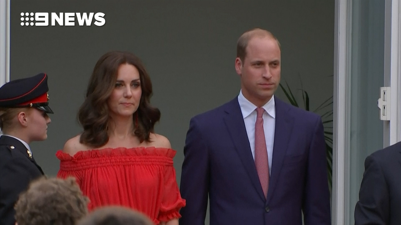 Prince William speaks German on Royal tour