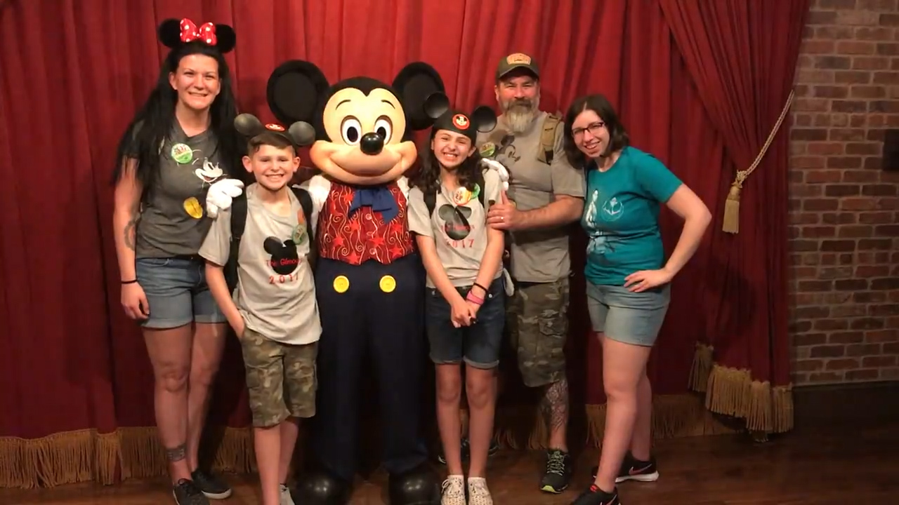 Mickey Mouse reveals adoption date to foster kids
