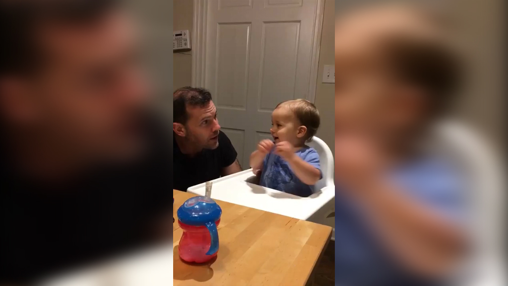 This baby has got the moves