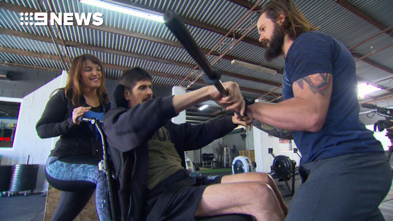 Queensland father rehabilitating with crossfit