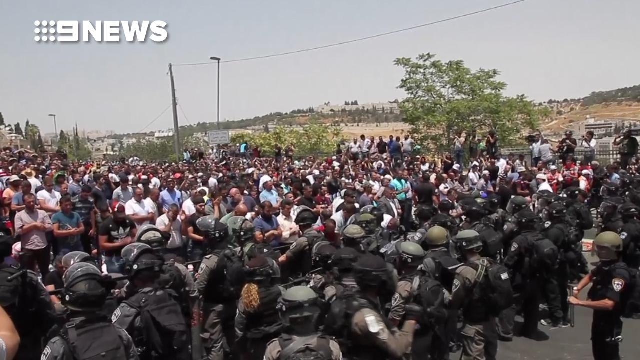 Escalating violence in Jerusalem over holy site
