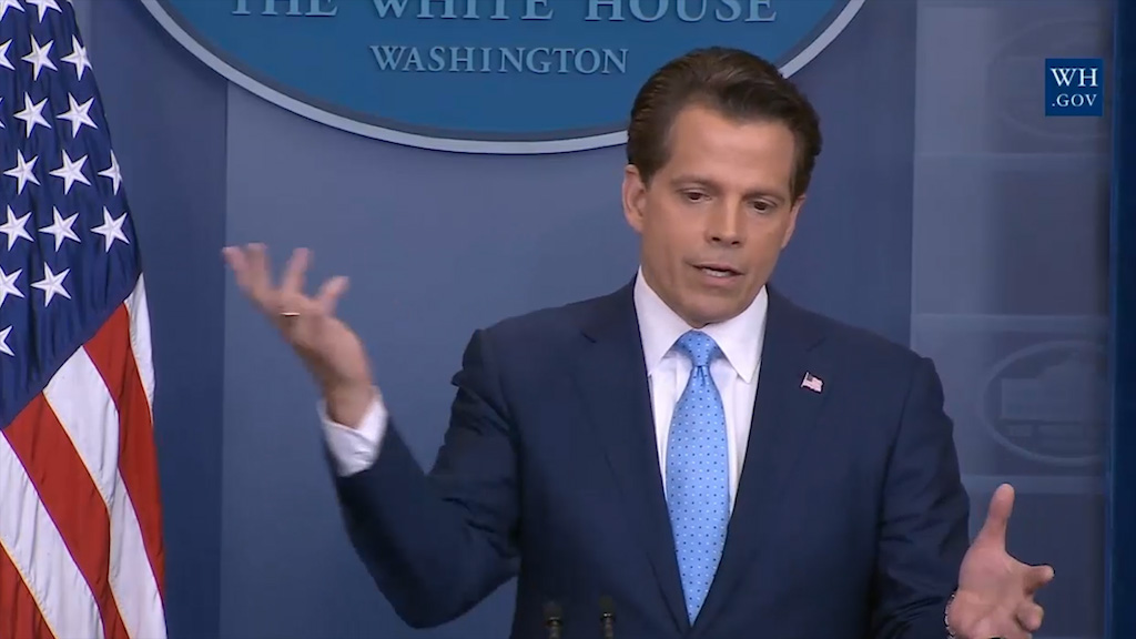 Anthony Scaramucci apologises to Trump for 'hack' comment