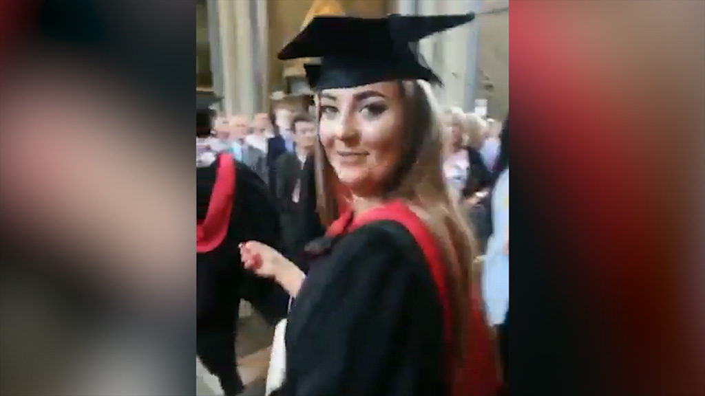Dad films wrong girl at graduation